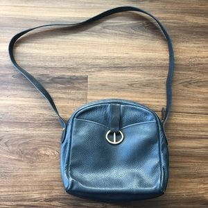 Christian Dior Vintage Leather Purse Blue